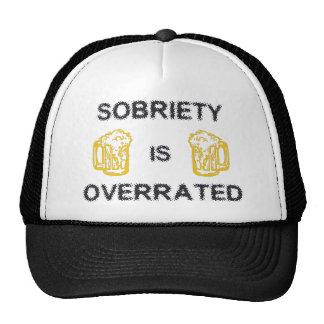 La sobriedad es sobrestimada por la tinta del pers gorra
