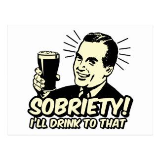 La sobriedad I beberá a ésa Postales