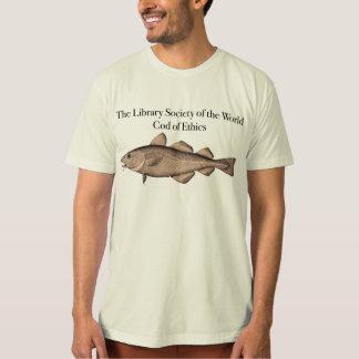 La sociedad de la biblioteca del bacalao del mundo playeras