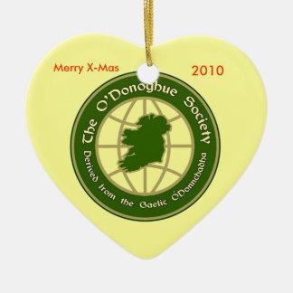 La sociedad de O'Donoghue Adornos De Navidad