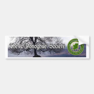 La sociedad de O'Donoghue Pegatina Para Auto