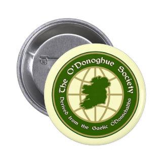 La sociedad de O'Donoghue Pin Redondo De 2 Pulgadas