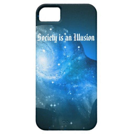 La sociedad es una ilusión funda para iPhone SE/5/5s