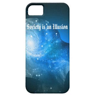 La sociedad es una ilusión iPhone 5 carcasa