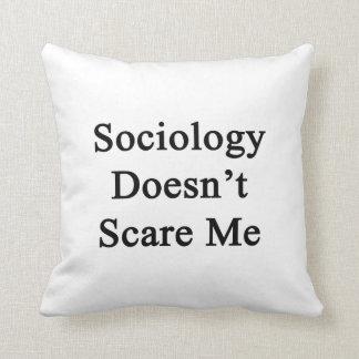 La sociología no me asusta almohada