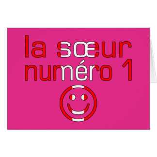La Sœur Numéro 1 - Number 1 Sister in Canadian Cards