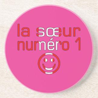 La Sœur Numéro 1 - Number 1 Sister in Canadian Beverage Coasters