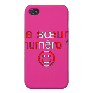 La Sœur Numéro 1 - Number 1 Sister in Canadian Cover For iPhone 4
