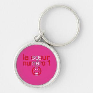 La Sœur Numéro 1 - Number 1 Sister in Canadian Keychain