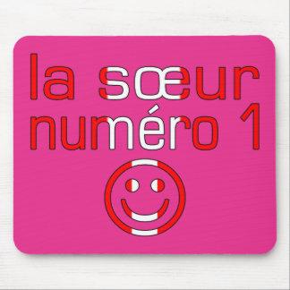 La Sœur Numéro 1 - Number 1 Sister in Canadian Mousepads