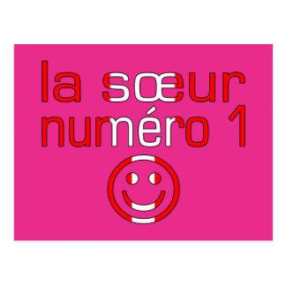 La Sœur Numéro 1 - Number 1 Sister in Canadian Post Card