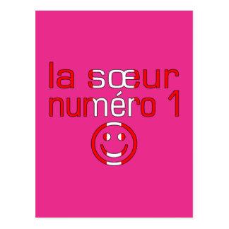 La Sœur Numéro 1 - Number 1 Sister in Canadian Postcard