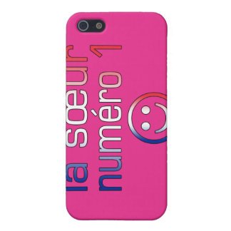 La Sœur Numéro 1 ( Number 1 Sister in French ) Covers For iPhone 5