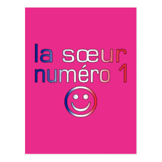 La Sœur Numéro 1 ( Number 1 Sister in French ) Post Card