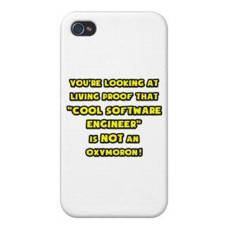 La Software Engineer fresca no es un Oxymoron iPhone 4/4S Carcasa