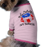 La soja Boricua de Besame me besa que soy puertorr Camisas De Mascota