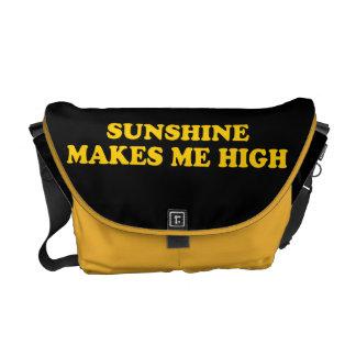 La sol me hace alto bolsas de mensajería