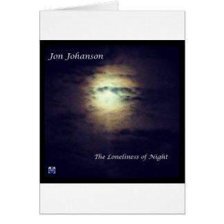 La soledad de la noche tarjeta de felicitación