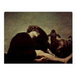 La soledad en el amanecer de Füssli Juan Heinrich  Postales