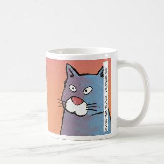 La solución $12,95 del gato taza