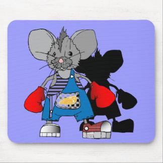 La sombra de Mike de los ratones embroma el cojín  Alfombrillas De Raton
