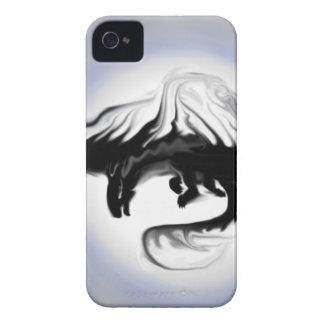 La sombra en la luz iPhone 4 Case-Mate cárcasas