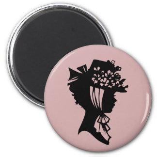 La sombrerería 28 se ruboriza la miel rosada 2010 iman para frigorífico