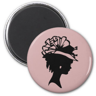 La sombrerería 7 se ruboriza la miel rosada del imanes para frigoríficos