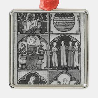 La Somme le Roi', by Lambert le Petit, 1311 Metal Ornament