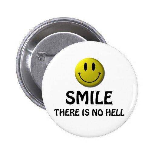 La sonrisa, allí no es ningún infierno pins
