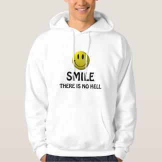 La sonrisa, allí no es ningún infierno sudadera encapuchada