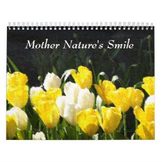 La sonrisa de la madre naturaleza calendario de pared