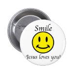 La sonrisa, Jesús le ama Pin