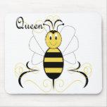 La sonrisa manosea la abeja reina Mousepad de la a Tapete De Ratones