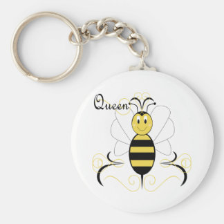 La sonrisa manosea llavero de la abeja reina de la