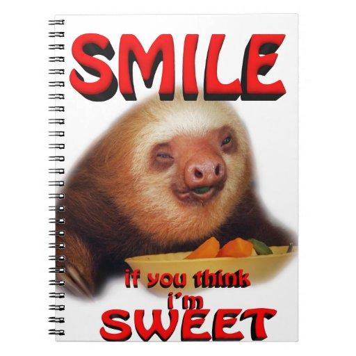la sonrisa si usted me piensa es dulce libros de apuntes