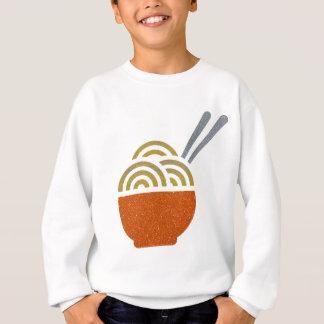 La sopa de fideos del brillo embroma la camiseta