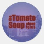 La sopa del tomate crónica al pegatina
