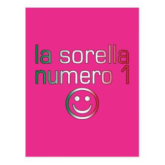 La Sorella Numero 1 - Number 1 Sister in Italian Postcard