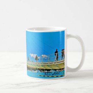La Spezia Harbor Suspension Bridge, Mug