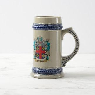 La-Spina Coat of Arms - Family Crest Coffee Mug