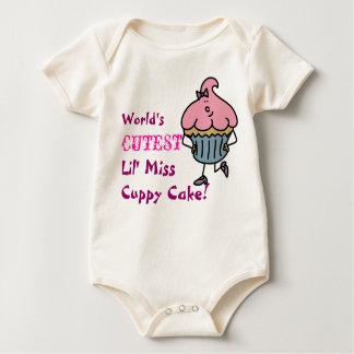 La Srta. más linda Cuppy Cake T-Shirt de Lil del Enterito
