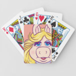 La Srta. Piggy Face Disney de los Muppets Baraja Cartas De Poker