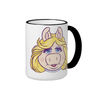 La Srta. Piggy Face Disney de los Muppets Taza De Dos Colores