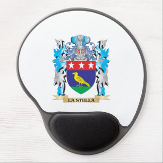 La-Stella Coat of Arms - Family Crest Gel Mouse Pad