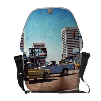 LA Streets Messenger Bag