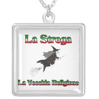 La Strega la bruja italiana de Halloween Collar