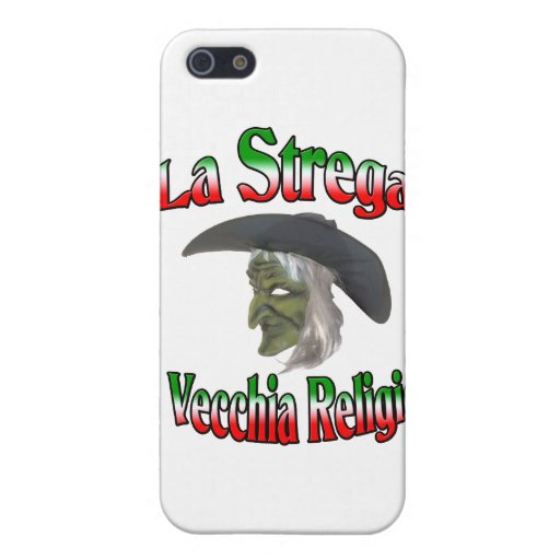 La Strega la bruja italiana de Halloween iPhone 5 Protector