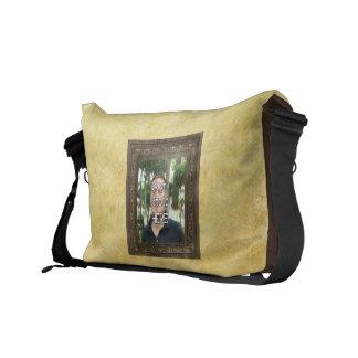 La su de la foto bolsa de mensajero de madera del  bolsa de mensajería