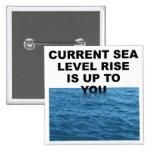 La subida actual del nivel del mar incumbe a usted pin